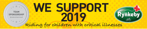 Team Rynkeby 2019 support
